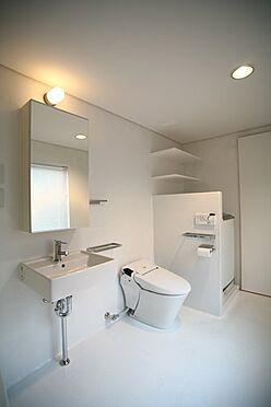 アパート-新宿区富久町 トイレ
