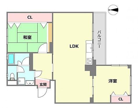 区分マンション-神戸市灘区鶴甲4丁目 角部屋・南東向き