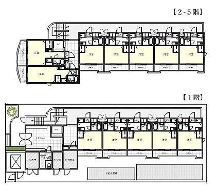 マンション(建物全部)-川崎市高津区千年 間取り