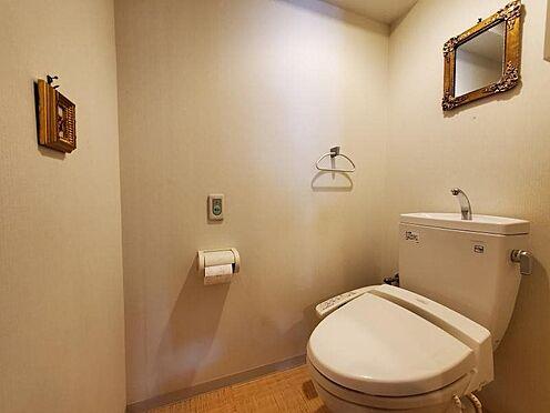 中古マンション-足柄下郡湯河原町宮上 普通のマンションよりも広いトイレです。