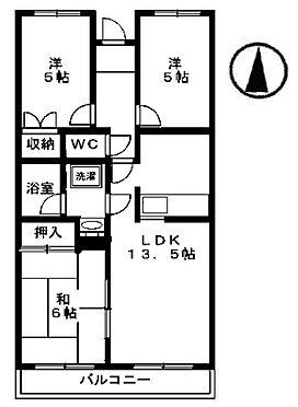 マンション(建物全部)-伊勢崎市富塚町 間取り