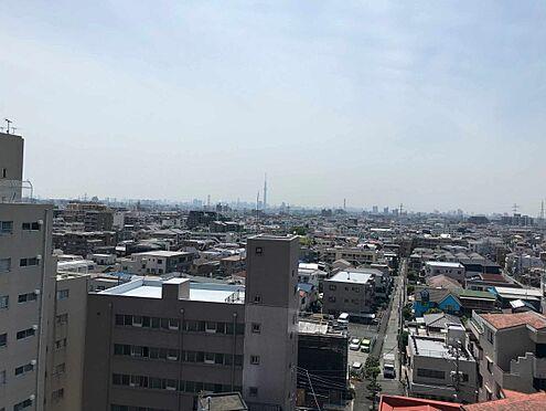 中古マンション-江戸川区北小岩6丁目 バルコニーからの眺望写真(天気の良い日にはスカイツリーが望めます)