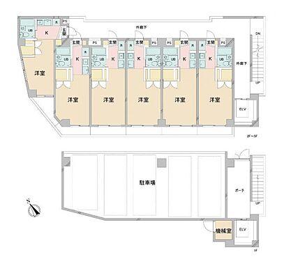 マンション(建物全部)-八王子市打越町 グレース北野・ライズプランニング