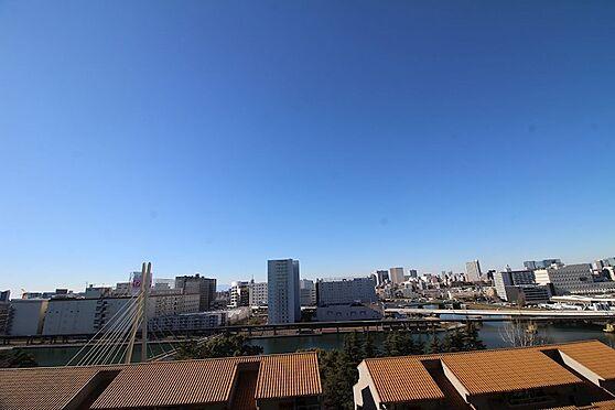 中古マンション-品川区八潮5丁目 バルコニーからの眺望です