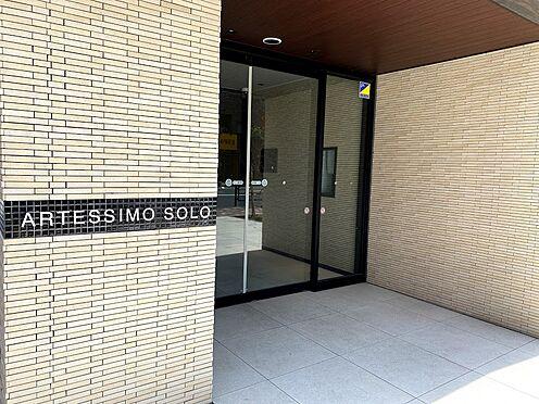区分マンション-墨田区東駒形4丁目 メインエントランス。3駅3路線利用可能で各方面へのアクセス良好