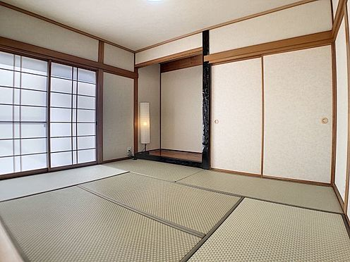 中古一戸建て-知立市牛田町小深田 床の間付きの情緒漂う和室は、心が落ち着きます
