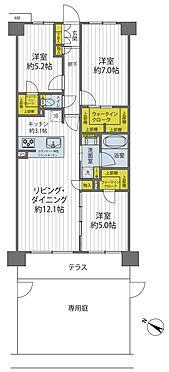中古マンション-柏市桜台 各部屋に大容量の収納がついており、すっきり広々とお過ごしできます。