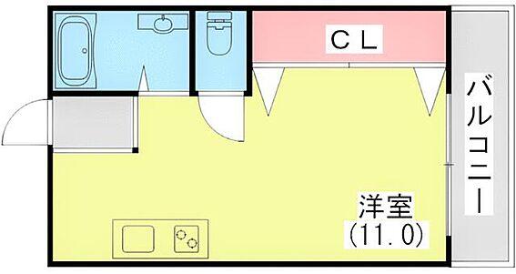 マンション(建物一部)-神戸市中央区二宮町1丁目 間取り