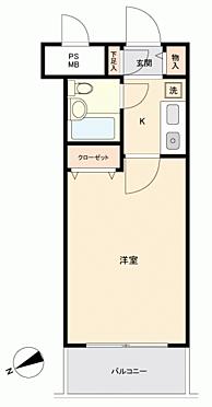 区分マンション-藤沢市藤沢1丁目 間取り