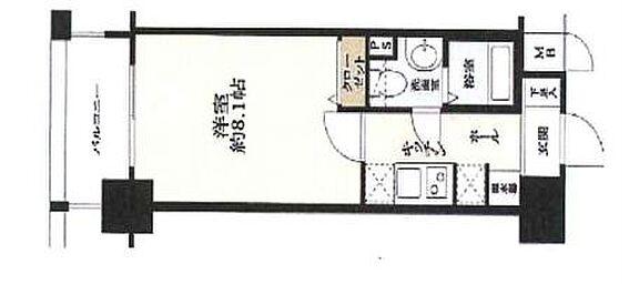 マンション(建物一部)-神戸市中央区御幸通3丁目 間取り