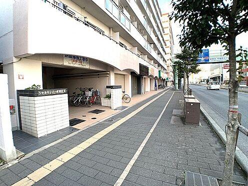区分マンション-大阪市城東区中央3丁目 前面道路
