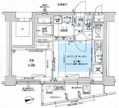 マンション(建物一部)-大田区南蒲田1丁目 間取り