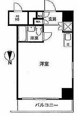 区分マンション-中央区日本橋箱崎町 間取り
