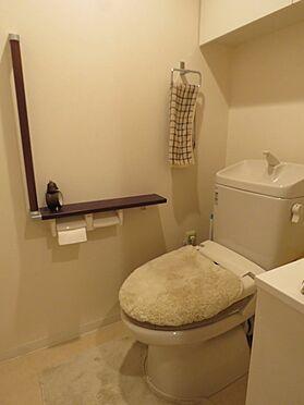 中古マンション-八王子市上柚木2丁目 温水洗浄機能付きトイレ
