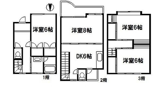 区分マンション-松戸市小金 間取り