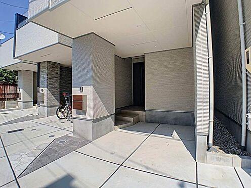 戸建賃貸-名古屋市東区百人町 前面道路 西側公道幅員約2.3m