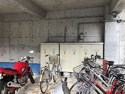 アパート-仙台市青葉区青葉町 駐輪スペース