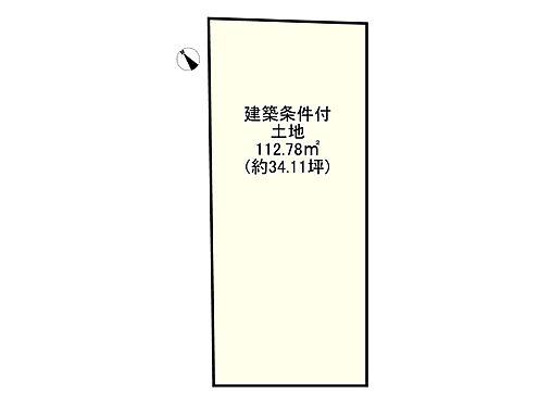 土地-岸和田市池尻町 区画図