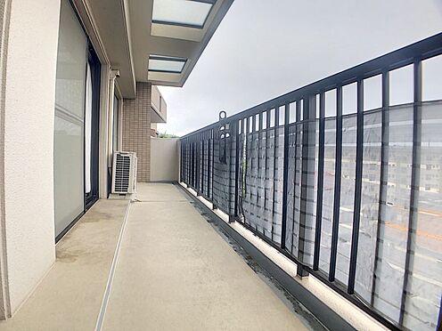 区分マンション-福岡市城南区別府6丁目 ゆとりあるバルコニーです。