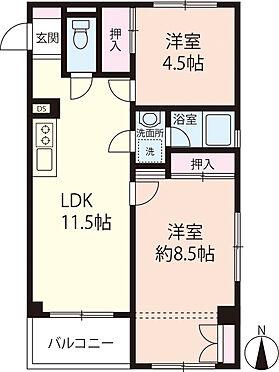 マンション(建物一部)-松戸市松戸 7階建ての7階部分!最上階、角部屋、南向きバルコニーのお部屋です!室内は、きれいになっております!