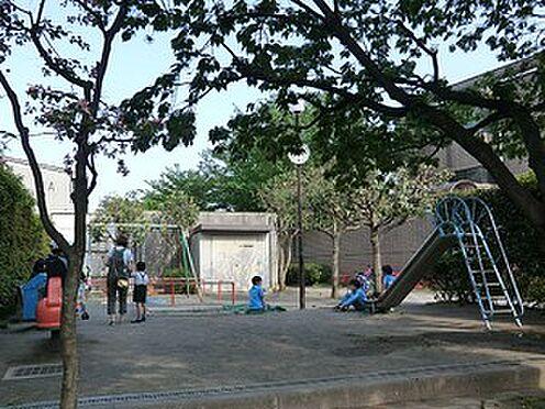 マンション(建物全部)-目黒区柿の木坂2丁目 周辺環境:第二曽根児童遊園