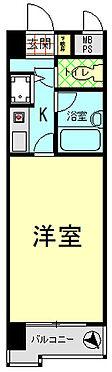 マンション(建物一部)-熊本市中央区大江1丁目 間取り