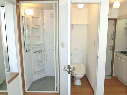 アパート-中野区松が丘2丁目 シャワールーム・洗浄機能付きトイレ照明器具付き