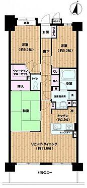 区分マンション-和光市新倉2丁目 間取り