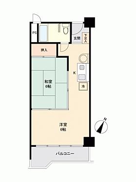 マンション(建物一部)-熱海市網代 間取り