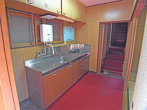 中古一戸建て-伊東市八幡野 ≪キッチン≫ コンパクトな装備です