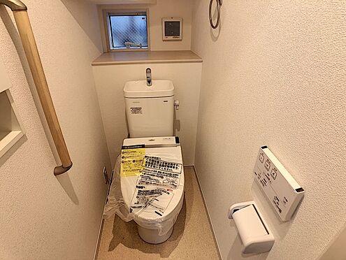 新築一戸建て-名古屋市南区戸部町3丁目 1階トイレ 便利な小物収納付き