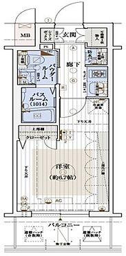 区分マンション-大阪市北区長柄東3丁目 室内に洗濯機置場あり
