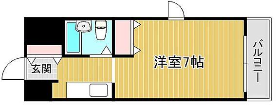 マンション(建物一部)-大阪市浪速区幸町2丁目 単身者向け・1K