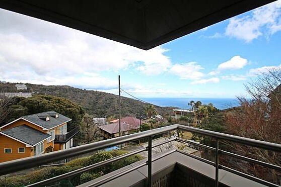 中古一戸建て-熱海市伊豆山 ひらけた眺望です。高台から相模湾を一望出来ます。