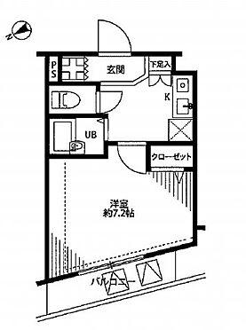 中古マンション-新宿区高田馬場3丁目 間取り