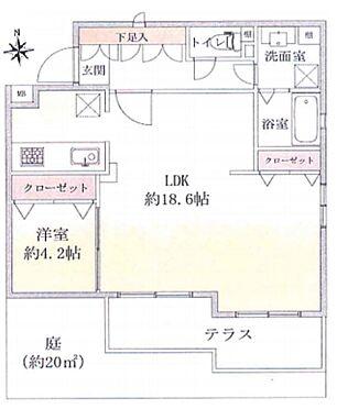 マンション(建物一部)-横浜市鶴見区元宮1丁目 間取り