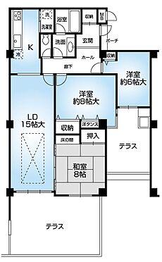 マンション(建物一部)-神戸市灘区箕岡通2丁目 間取り