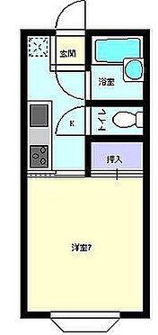 アパート-秋田市桜3丁目 間取り