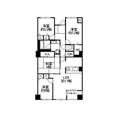 マンション(建物一部)-三田市学園3丁目 間取り