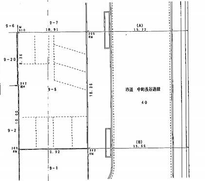 土地-静岡市葵区西草深町 区画図