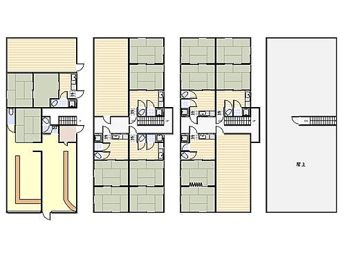 マンション(建物全部)-堺市堺区少林寺町東1丁 1棟マンション、鉄骨造3階建。キッチン付きは7住戸ございます。周辺は商業が複数点在する住環境です。投資用物件としてご検討いただけます。