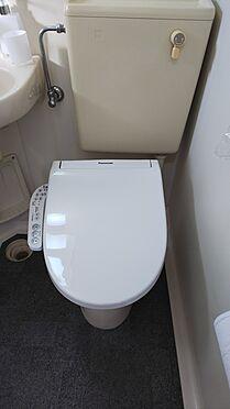 アパート-入間郡毛呂山町下川原 トイレ