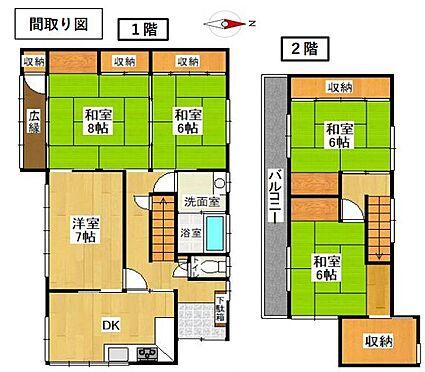 戸建賃貸-知多郡武豊町字山ノ神 5DK+S、土地面積181平方メートル、建物面積115.8平方メートル