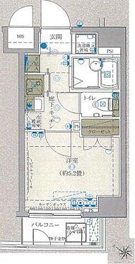 マンション(建物一部)-横浜市南区中村町1丁目 間取り