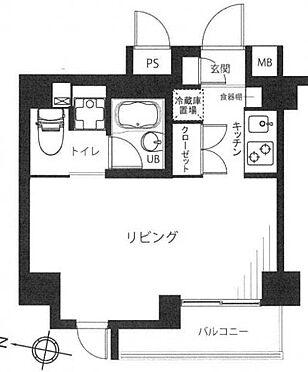 中古マンション-台東区蔵前4丁目 間取り