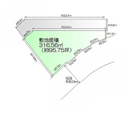 土地-仙台市青葉区国見ケ丘5丁目 区画図