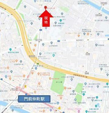 店舗事務所(建物全部)-江東区深川1丁目 ☆案内図☆