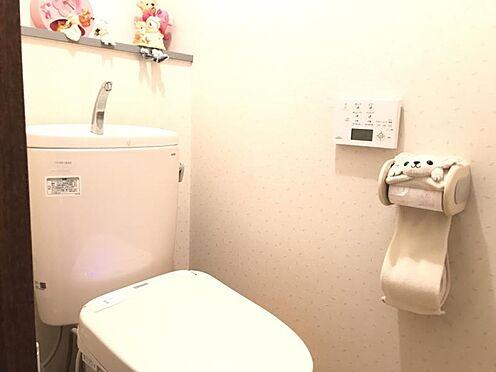 中古マンション-知多市八幡新町3丁目 清潔感あふれるトイレです!