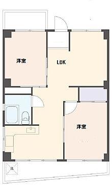 マンション(建物一部)-神戸市東灘区甲南町4丁目 2面バルコニー