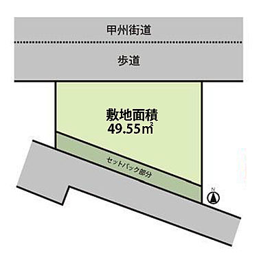 アパート-府中市美好町2丁目 区画図。投資用としてお勧めです。